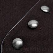 men's Noctivagus Vest by PUNK RAVE brand, code: WY-1072/BK-RD
