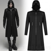 men's Gothic Fencer Coat by PUNK RAVE brand, code: WY-1085
