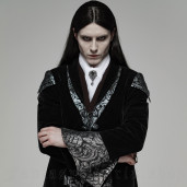men's The Magician Jacket by PUNK RAVE brand, code: WY-1089