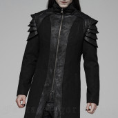 men's Sanctum Coat by PUNK RAVE brand, code: WY-1091