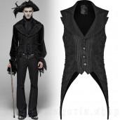 men's Cthulhu Vest by PUNK RAVE brand, code: WY-1101/BK