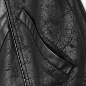 men's Behemoth Coat by PUNK RAVE brand, code: WY-1111