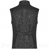 men's Nostalgic Lover Vest by PUNK RAVE brand, code: WY-1112