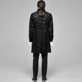men's Illuminati Jacket by PUNK RAVE brand, code: WY-1165/BK