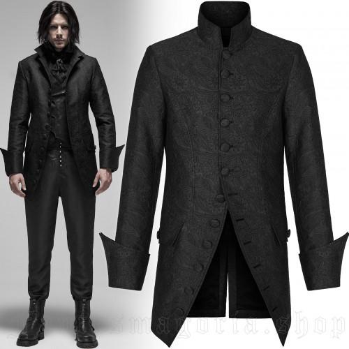 men's Royal Palace Jacket by PUNK RAVE brand, code: WY-1178/BK