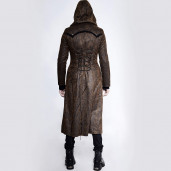 men's Nuclear Coma II Coat by PUNK RAVE brand, code: Y-760/CO/Male