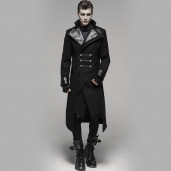 men's Duel Coat by PUNK RAVE brand, code: Y-791/Male