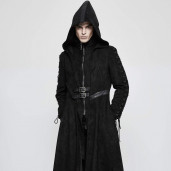 men's Rune Witcher Coat by PUNK RAVE brand, code: Y-780/Male