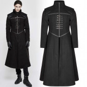 men's Catacomb Coat by PUNK RAVE brand, code: Y-777/Male