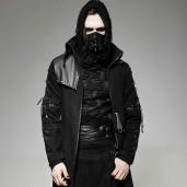 men's Alien Coat by PUNK RAVE brand, code: Y-689/Male