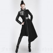 women's Alien Coat by PUNK RAVE brand, code: Y-689/Female