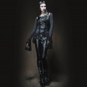 women's Nocturna Top by PUNK RAVE brand, code: T-189