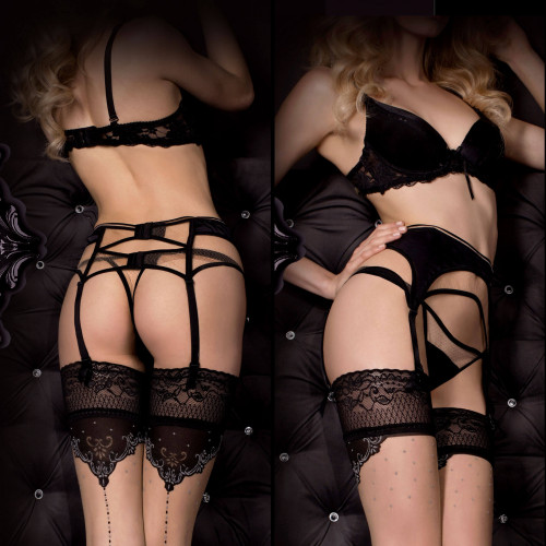 women's Alluria Garter Belt And Thongs by BALLERINA brand, code: BAL318