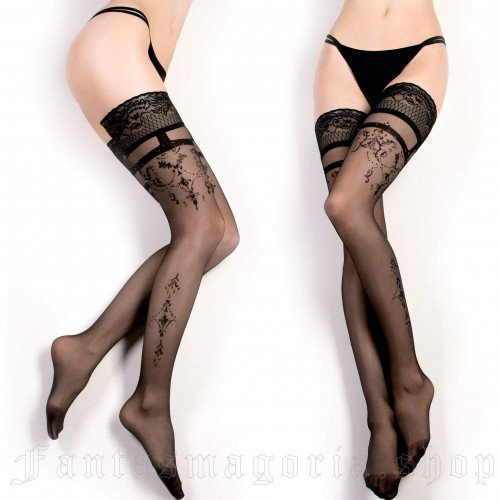 women's Baroness Stockings by BALLERINA brand, code: BAL343/BK