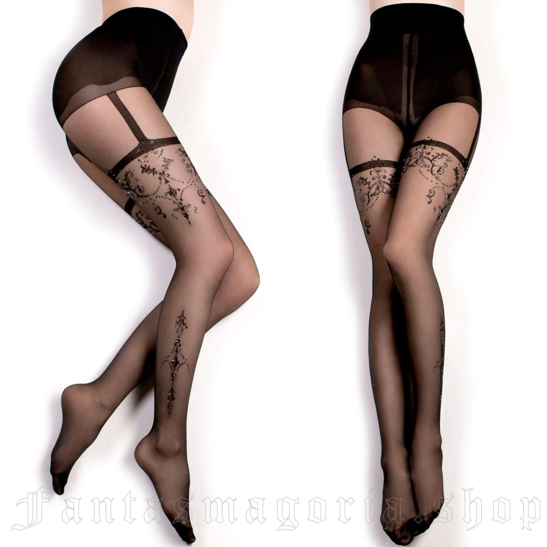 women's Nemesis Tights by BALLERINA brand, code: BAL348/BK