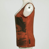 women's Watercolor Top by PUNK RAVE brand, code: T-349/RD