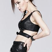 women's Wortex Top by PUNK RAVE brand, code: T-383