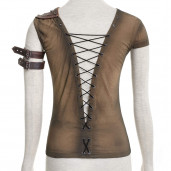 women's Ripley Top by PUNK RAVE brand, code: T-433/CO