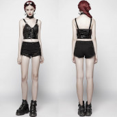 women's Toxica Top by PUNK RAVE brand, code: WT-542