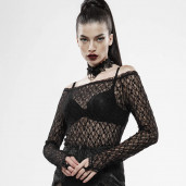 women's Vitrage Top by PUNK RAVE brand, code: WT-598