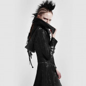 women's Scorpio Jacket-Coat by PUNK RAVE brand, code: Y-364/Female