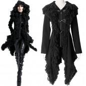women's Targaryen Cardigan Coat by PUNK RAVE brand, code: Y-426