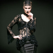 women's Embrace Of The Grace Top by PUNK RAVE brand, code: Y-535