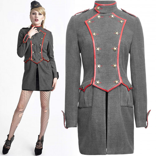 Girl Soldier Jacket