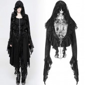 women's Gothic Wanderer Bolero by PUNK RAVE brand, code: WY-886