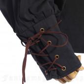 men's Steamgoth Shirt by RQ-BL brand, code: SPM001/BK