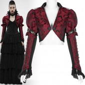 women's Versailles Bolero by PUNK RAVE brand, code: WY-1133/BK-RD