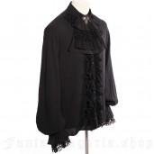 men's Gothic Shirt by RQ-BL brand, code: SPM011/BK