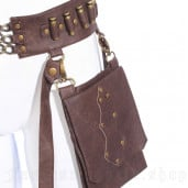 men's Steampunk Waist Bag by RQ-BL brand, code: SPM035
