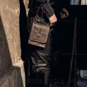 men's Steampunk Waist Bag by RQ-BL brand, code: SPM035