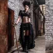 women's Melisandre Blouse by RQ-BL brand, code: SP087/BK