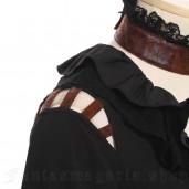 women's Steamgirl Shirt by RQ-BL brand, code: SP105/BK