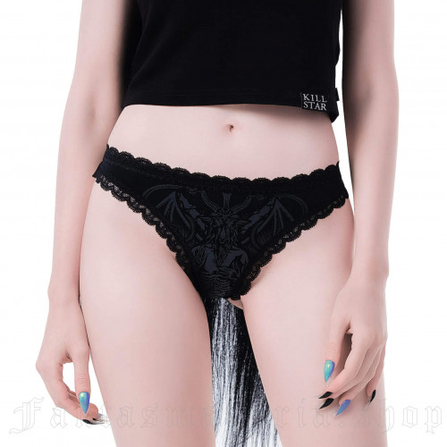 Deadly Night Panty Black