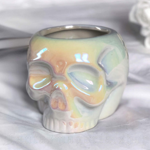 women's Skull Mug White Aura by KILLSTAR brand, code: KSRA001502