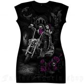 women's Bikers Love Tunic by FANTASMAGORIA brand, code: TD60