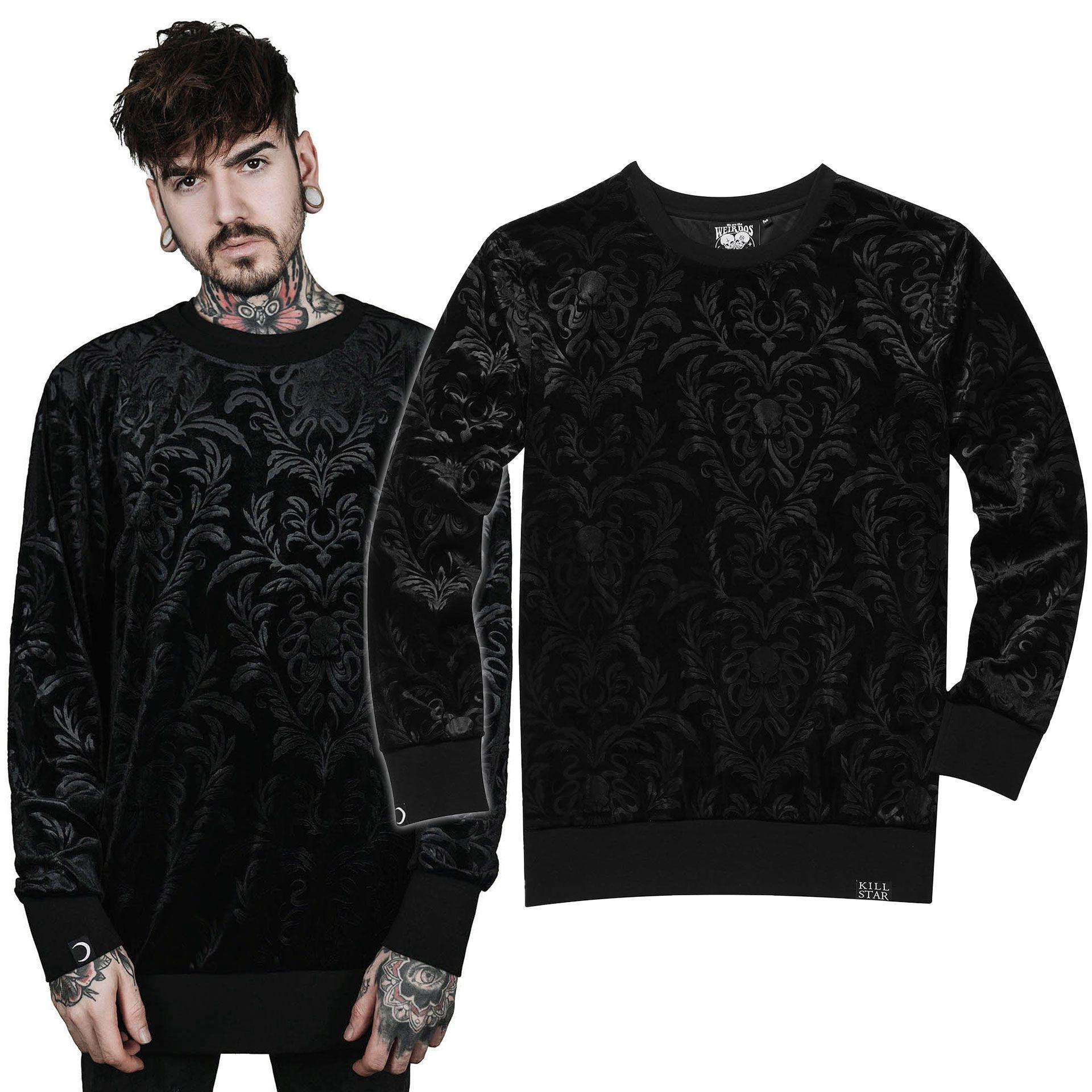 Cthulhu Velvet Sweatshirt
