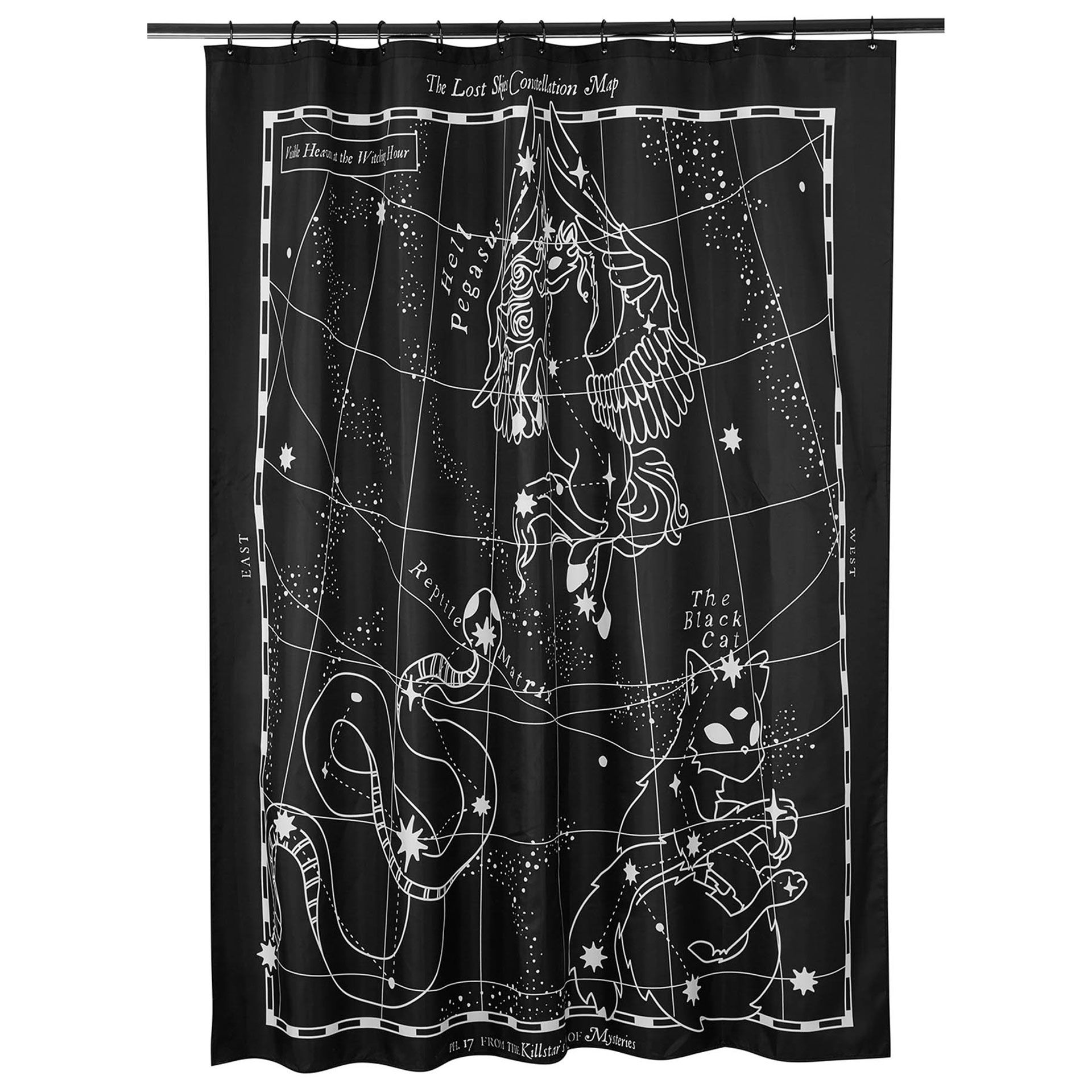 Lost Skies Shower Curtain