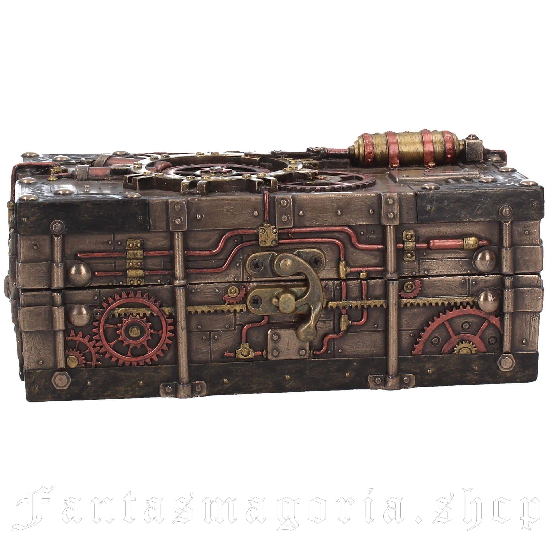 The Enigma Vault Jewelry Box