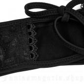 women's Black Brocade Panties by PUNK RAVE brand, code: WS-249