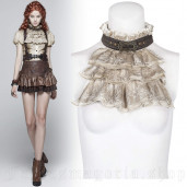 women's Viscount Jabot by PUNK RAVE brand, code: WS-292/WH