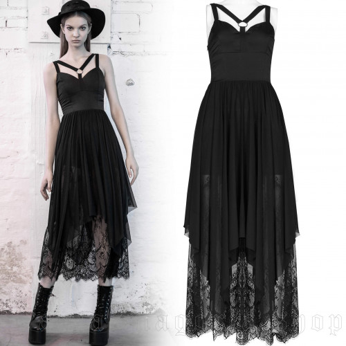 women's Witch House Dress by PUNK RAVE brand, code: OPQ-716