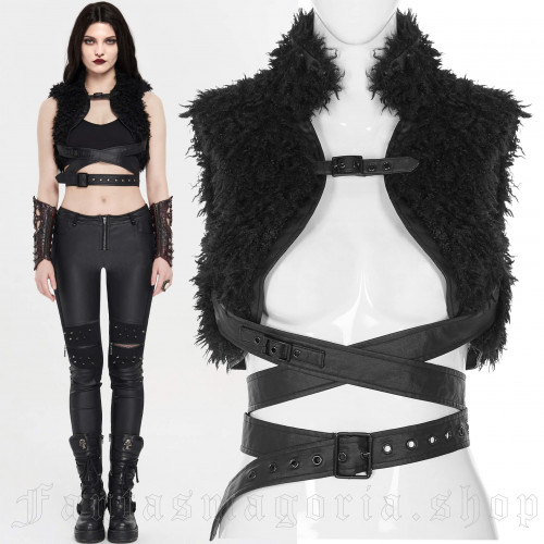 women's Wolverine Shrug by PUNK RAVE brand, code: WY-1222