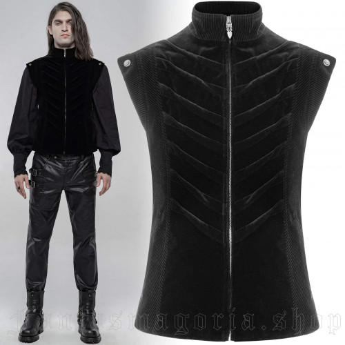 men's Mantus Vaistcoat by PUNK RAVE brand, code: WY-1249
