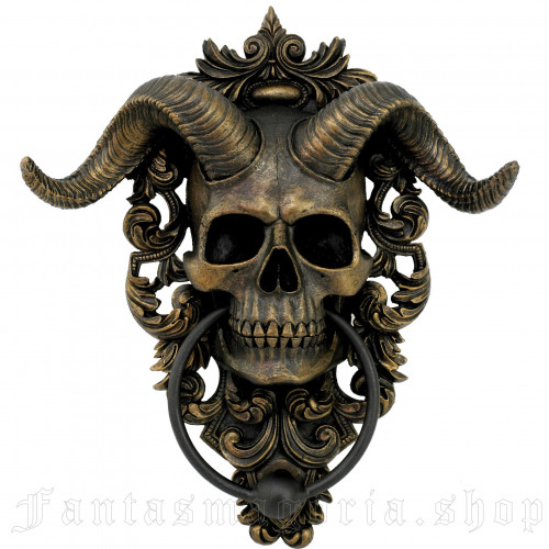 Diabolus Door Knocker