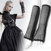 women's Mistressa Mesh Gloves by PUNK RAVE brand, code: WS-421