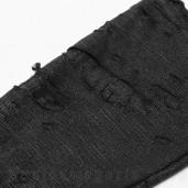 women's Terror Black Gloves by PUNK RAVE brand, code: WS-415